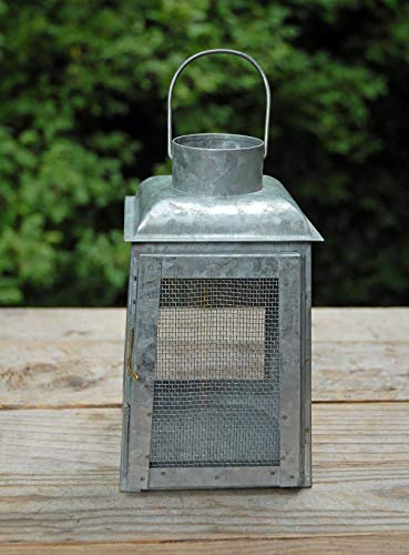 Richland Chicken Wire Galvanized Metal Candle