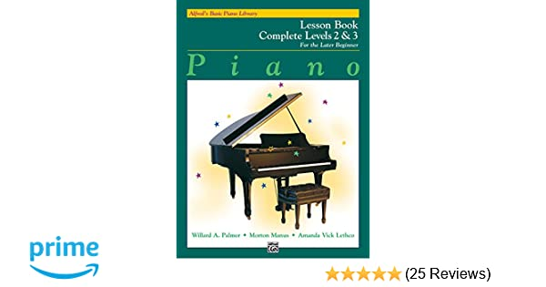 Alfred's Basic Piano Library: Piano Lesson Book, Complete Levels 2