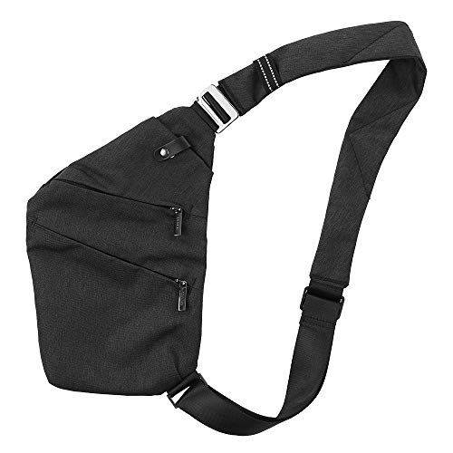 Sac Poche Sling Hommes De Body Anti À Bandoulière Sécurité Homme Noir 1 Cross vol Lixada Pour Femmes Backpack Poitrine Bag f6dwaqx