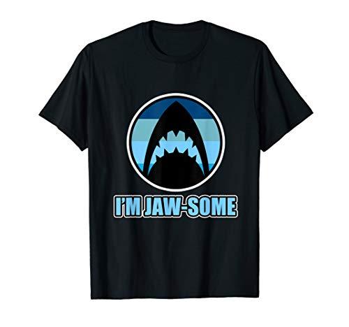 Shark Shirt - I'm Jaw-some - Hug a Shark Day - Ocean Sharks T-Shirt