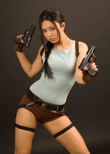 90s Computer Game Lara Croft Tomb Raider Costume (struts-9747 ...