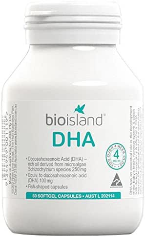 Bio Island DHA Kids 60 Capsules