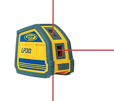 Spectra LP30 Laser Pointer, Three Beam Point Laser with Pouch