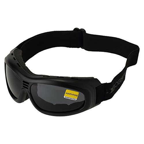 - Bobster Touring 2 Goggles, Black Frame/Smoked Lens