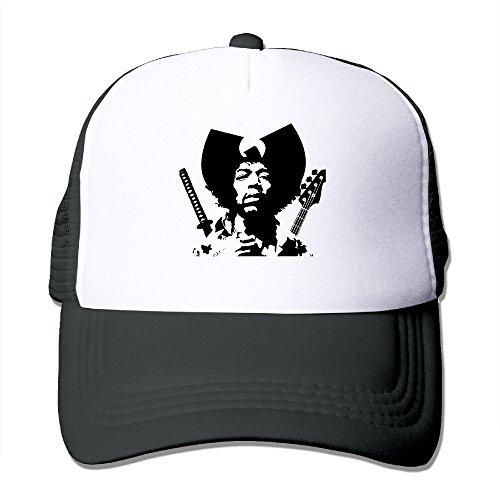 P-Jack Adults Adjustable Jimi Hendrix Gun Motorcycle Cap Black