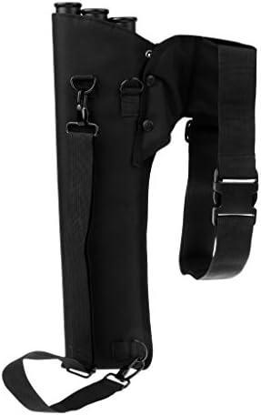 Sharplace 弓ホルダー アーチェリー 矢筒 腰矢筒 弓袋 3チューブ 迷彩バック 矢印 腰側ベルト
