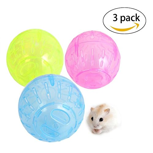 Hamster Ball Toy,Run Exercise Ball for Small Animal,Run-About Mini Ball for (Runabout Ball Toys)