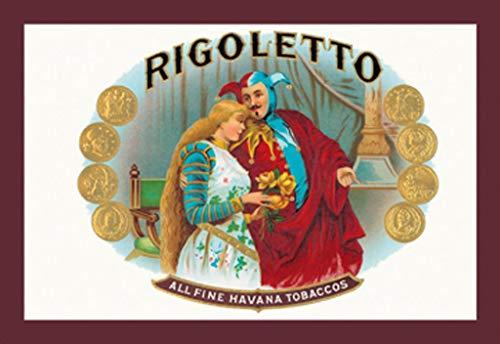 ArtParisienne Rigoletto All Fine Havana Tobaccos 16x24-inch Wall Decal ()