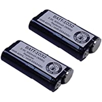 Panasonic KX-TGA651B Cordless Phone Battery Combo-Pack includes: 2 x BATT-1032 Batteries