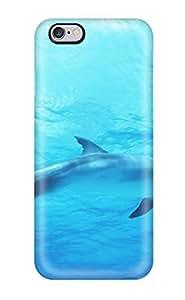 For Iphone 6 Plus Fashion Design Dolphin In Deep Blue Sea Case-UJHCnor9726cgQUz