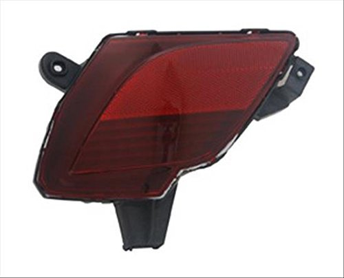 OE Replacement Bumper Cover Reflector MAZDA CX5 2013-2016 (Partslink MA2830101) [並行輸入品] B07Q2Z3LSB