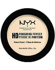 NYX PROFESSIONAL MAKEUP HD Finishing Powder, Pressed Setting Powder - Banana