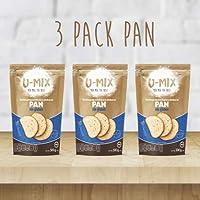 HARINA SIN GLUTEN U-MIX Premezcla para elaborar Pan - Harinas HECHO EN MEXICO Vegano Gluten Free Kosher (1.5)