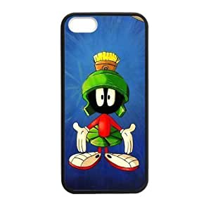 Sports Design Cartoon Movie Marvin the Martian Printing for iPhone 5,5S TPU