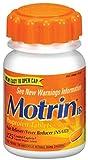 Motrin IB Caplets, 225 ea (12 Pack)