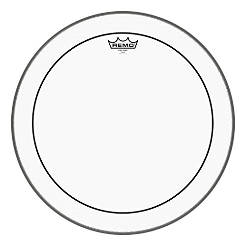 Remo Pinstripe Clear Drum Head - 18 Inch from Remo