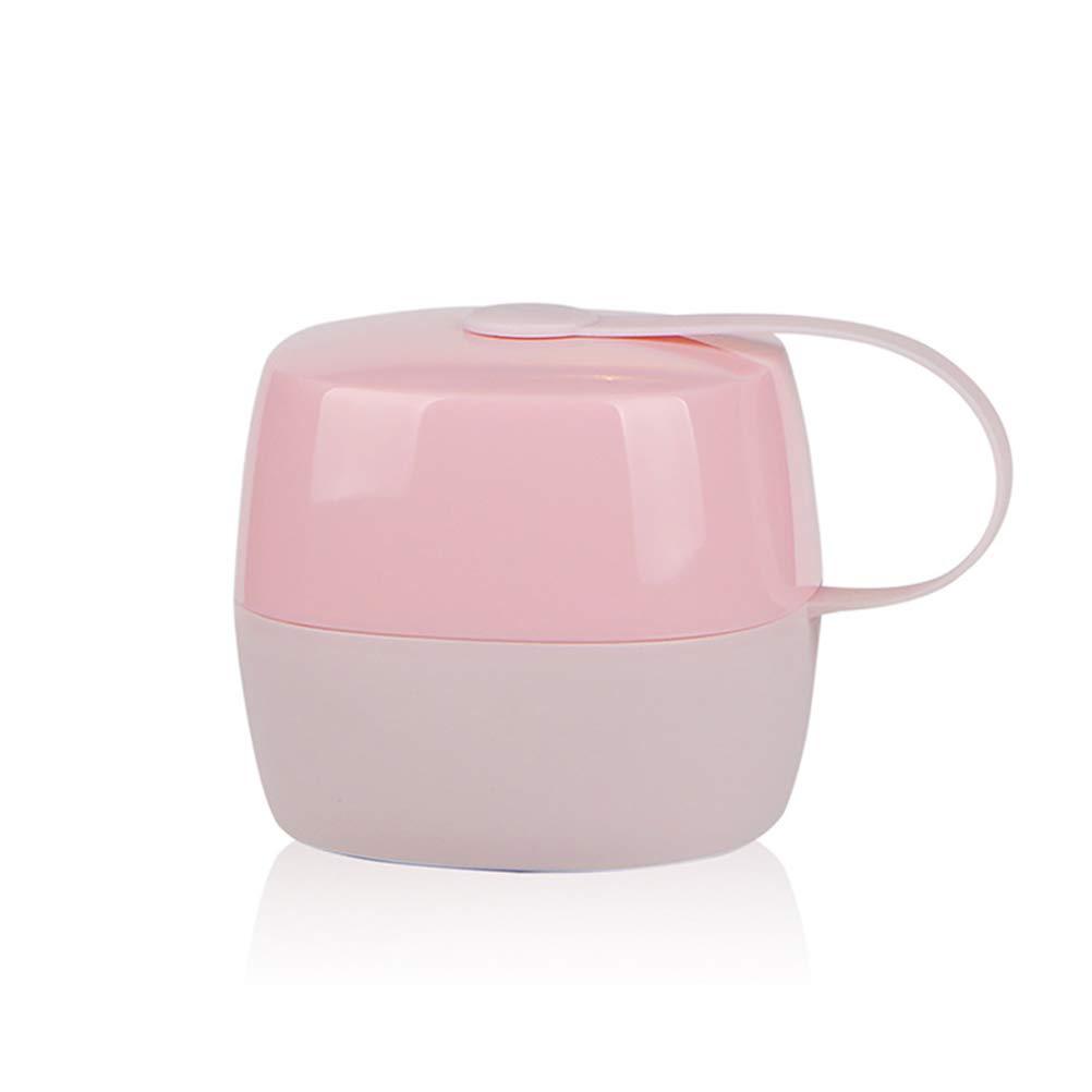 Healifty Caja de Chupete Infantil para Bebe Verde y Rosa