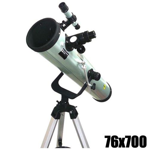 DYNASUN Spiegel Teleskop 700 76 Spiegelteleskop Reflektor Fernrohr mit Zubeh/ör
