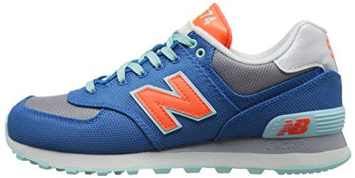 Balance W 8 Calzado Wl574 5 Blau New qHwgTp