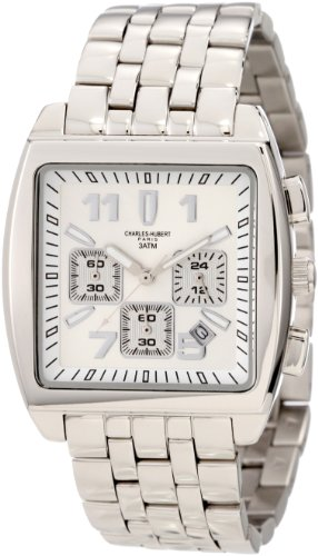 Charles-Hubert, Paris Men's 3697 Premium Collection Stainless Steel Chronograph Watch