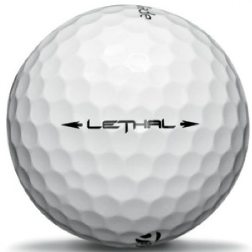 TaylorMade Lethal Golf Ball 12pk White by TaylorMade (Image #4)