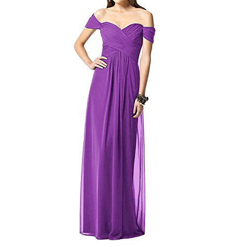 Night Moves Prom Gowns (H.S.D Women's Sheath Sweetheart Off Shoulder Long Bridesmaid Dress Prom Gown)