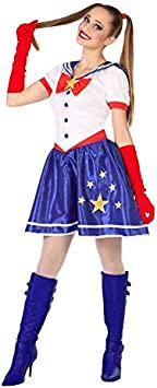 DISBACANAL Disfraz de Sailor Moon para Mujer - -, M-L: Amazon ...