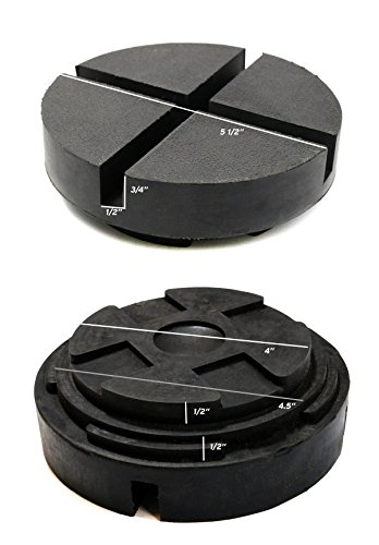 Single Extra Large Universal Polyurethane Floor Jack Pad Adapter by TMB Motorsports (Image #6)