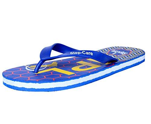 Indistar Mens Infradito Pantofola E Hawaai Chappal (pacchetto Di 4)