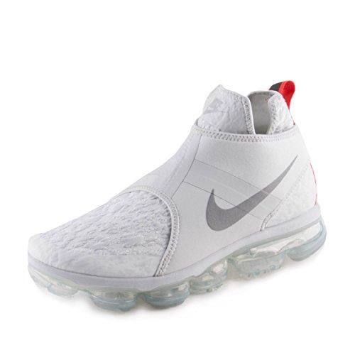 Nike Mens Air Vapormax Chukka Slip Pure Platinum/Silver Neoprene Size 10.5