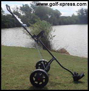 Masters 1 Series Cart Golftrolley schwarz