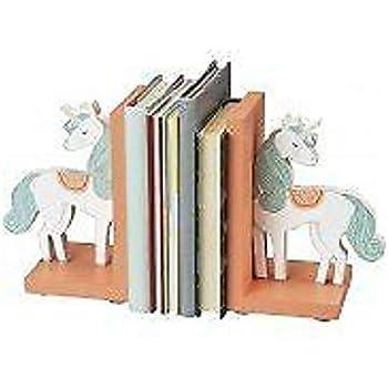 Amazon.com: Tinkie Toys - Sujetalibros de madera con diseño ...