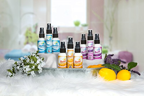 Flushie Pre-Toilet Spray 1- Ounce Travel Size (4pack- citrus, linen, lavender, unscented), Toilet Spray, Bathroom Deodorizer, Poop Spray, Before You Go Spray, Perfect For Travel, Fits In Any Purse by Flushie Pre-Toilet Sprays (Image #5)