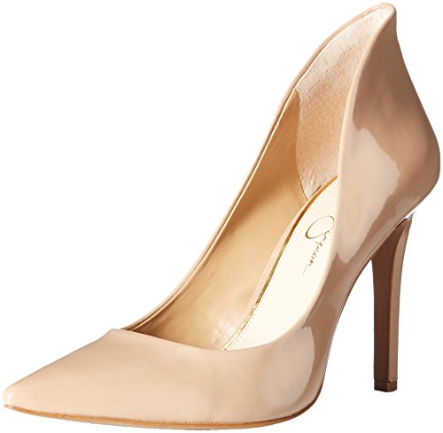 Jessica Simpson Women's Cambredge Dress Pump, Nude, 9 M US