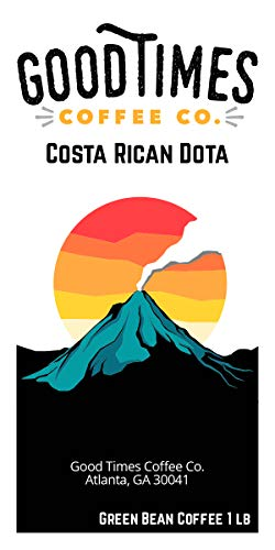 Green Unroasted Coffee Beans (Costa Rican Dota)