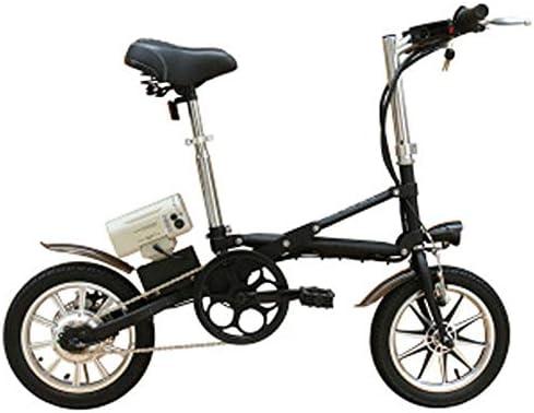 JH Bicicleta eléctrica, de 14 Pulgadas de Aluminio Rueda Una ...
