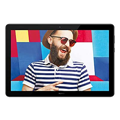 Huawei Mediapad T5 Tablet, Display da 10.1″, 32 GB Espandibili, 3 GB RAM, Android 8.0 EMUI 8.0 OS, WiFi, Nero