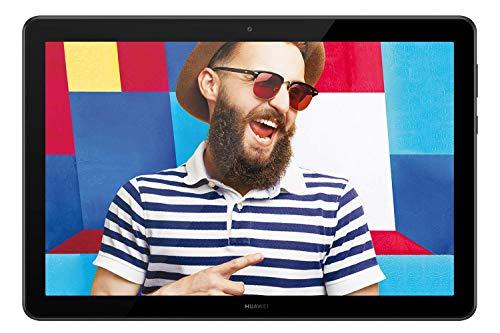 Huawei Mediapad T5 Tablet, Display da 10.1″, 32 GB Espandibili, 3 GB RAM, Android 8.0 EMUI 8.0 OS, WiFi, Nero