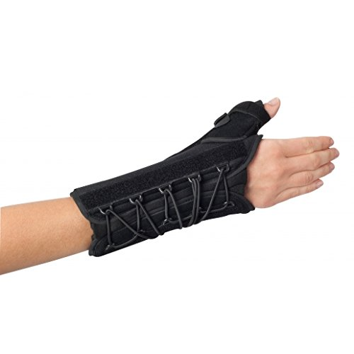 (ProCare 79-87480 Quick-Fit WTO Wrist/Thumb Support Splint, Right, Universal)