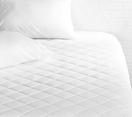 AmazonBasics, Cobertor acolchado para colchón, Individual: Amazon.com.mx: Hogar y Cocina