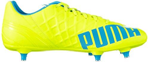 white 4 Evospeed Chaussures Sg atomic Puma 02 Homme Football Yellow 4 Gelb De Blue safety Jaune x6wdqEqFg
