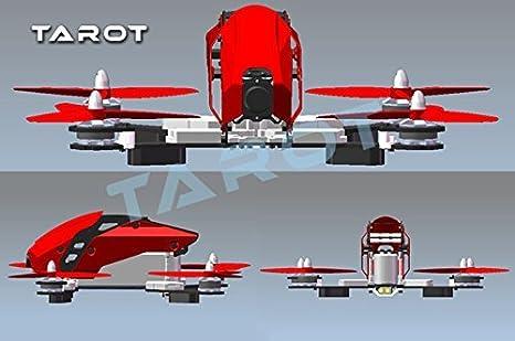 Tarot FPV 280 Kit de fuselaje de fibra de carbono Racing Drone ...