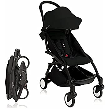 BabyZen Yoyo+ Stroller-Black Frame (Black)