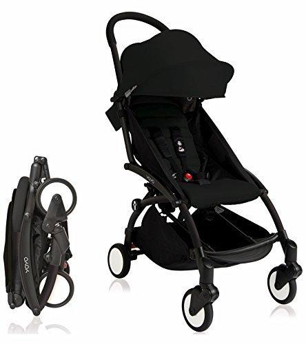 BabyZen 2018 Yoyo+ Stroller Black Frame (Black) by Baby Zen