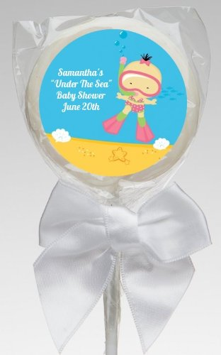 Amazoncom Under The Sea Asian Baby Girl Snorkeling Personalized
