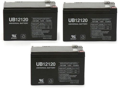 12V 12Ah F2 Razor Battery fits MX500 & MX650, W15128190003 Better Than OEM - by Universal Power Group