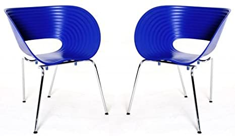 Vitra tom vac ron arad designer di sedie set di blu struttura