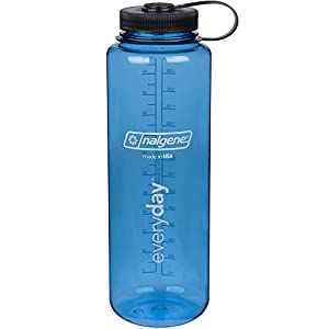Nalgene HDPE 48oz Silo Wide Mouth BPA Free Water Bottle