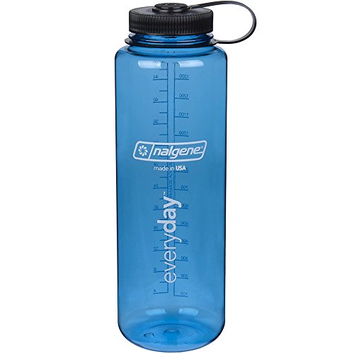 Nalgene HDPE 48oz Silo Wide Mouth BPA Free Water Bottle
