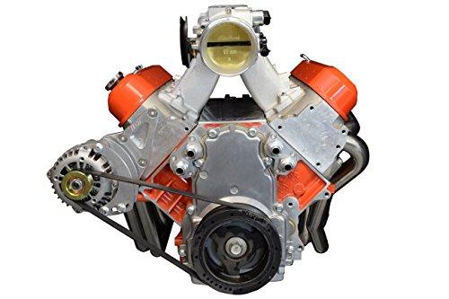 LS Corvette Alternator Only Passenger Side Bracket LSX Electric Or Remote Water Pump LS Billet 551518-1